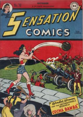 Sensation Comics #70. Click for current values.