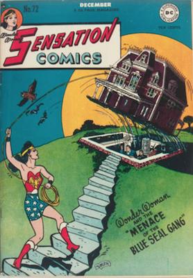 Sensation Comics #72. Click for current values.
