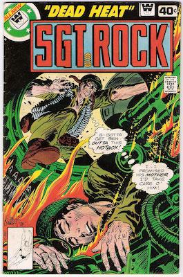 Sgt. Rock #329. Click for current values.