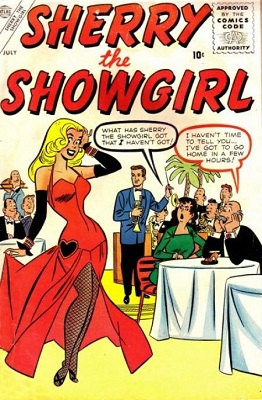 Sherry the Showgirl #1: First issue of the series. Click for value