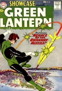 Showcase #22: First Silver Age Green Lantern. Click for values