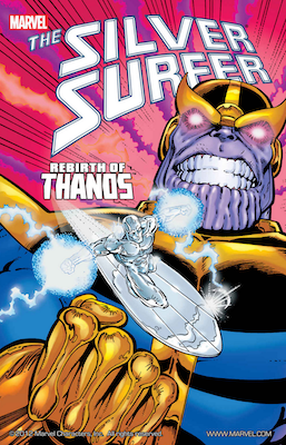 Silver Surfer: Rebirth of Thanos. Click to order from Amazon
