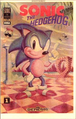 Most valuable comic books: Sonic the Hedgehog Promotional Supplement #1 (1991), Rare giveaway. Click for values
