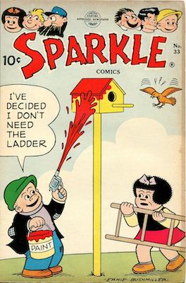 Sparkle Comics #33: Early Peanuts Comic Book. Click for values