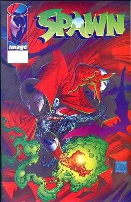 Spawn #1 (1992): Manufacturing Error. Click for value