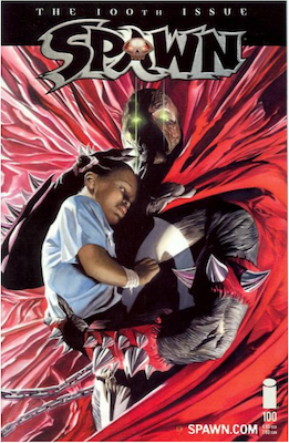 Spawn #100 (Ross) . Click for values.