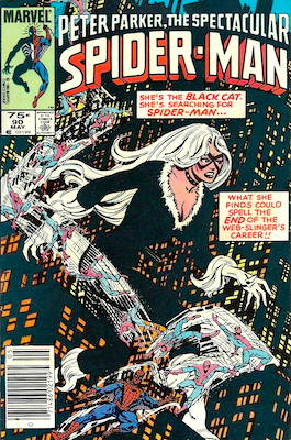 Spectacular Spider-Man #90: Canadian Price Variant. Click for values