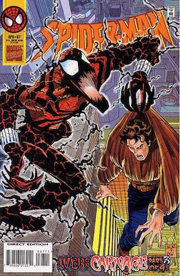 Spider-Man (1990) #67: Carnage comic. Click for values