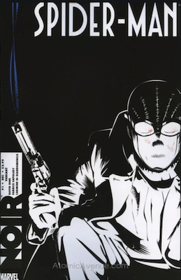 Spider Man Noir 1 variant cover, actually worth less than the regular one. Click to buy a copy