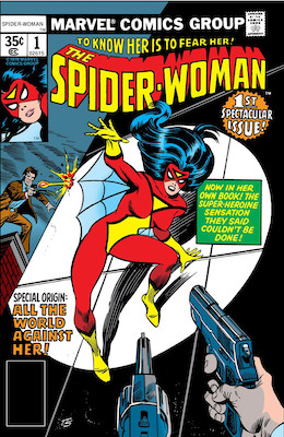 Spider-Woman #1: First in standalone series. Click for values.