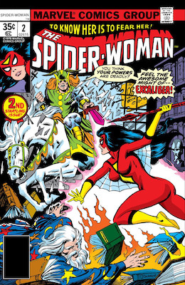 Spider-Woman #2. Click for values.