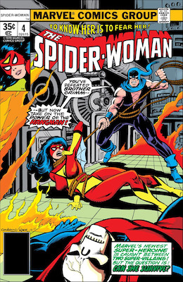 Spider-Woman #4. Click for values.