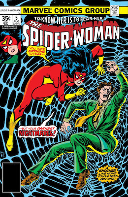 Spider-Woman #5. Click for values.