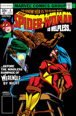 Spider-Woman #6. Click for values.