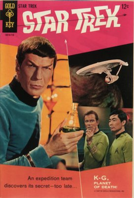 Star Trek #1: Gold Key; first issue. Click for values