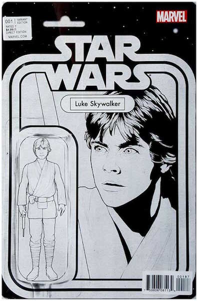 #62: Star Wars 1 Action Figure Sketch (Luke Skywalker), Christopher (2015). Click for values