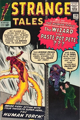 Strange Tales #110 is the first appearance of Doctor Strange. Click to buy