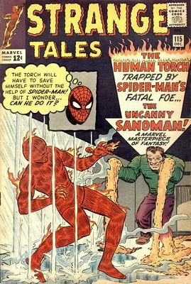 Strange Tales 115. Click for value