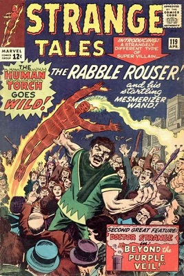 Strange Tales 119. Click for value