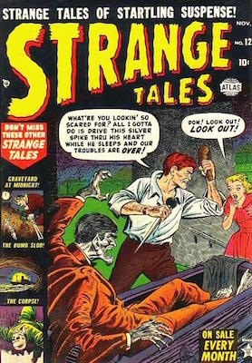 Strange Tales 12. Click to see value