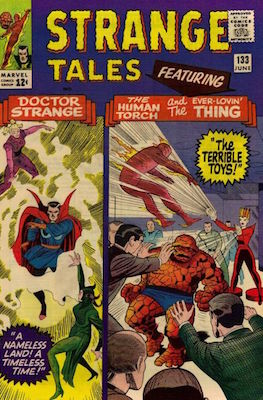 Strange Tales 133. Click for values
