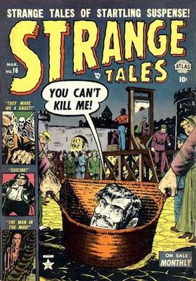 Strange Tales #16. Click for value