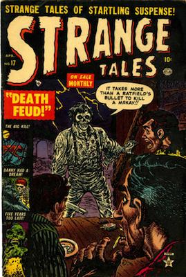 Strange Tales #17. Click for value