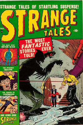 Strange Tales  #3: click for value