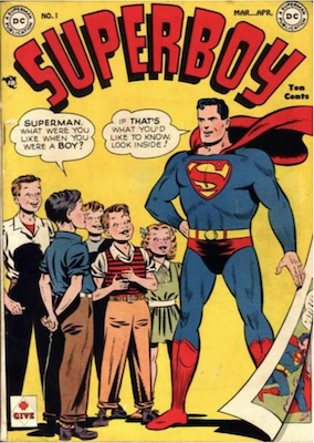 Superboy #1. Click for current values.