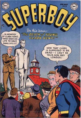 Superboy #19. Click for current values.