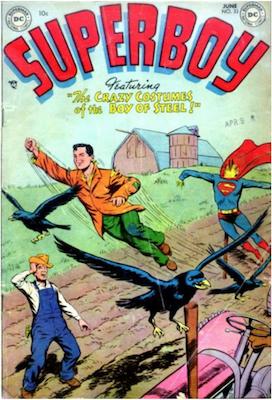 Superboy #33. Click for current values.
