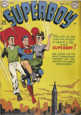 Superboy #4. Click for current values.