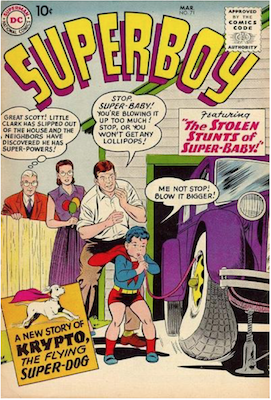 Superboy #71. Click for current values.