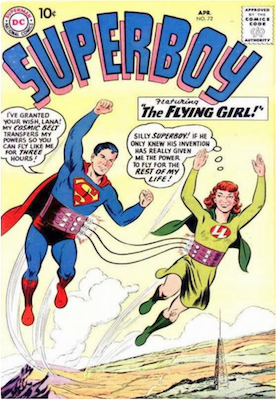 Superboy #72. Click for current values.