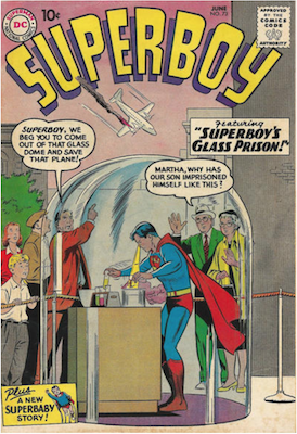 Superboy #73. Click for current values.