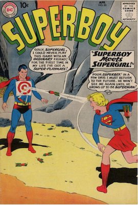 Superboy #80. Click for current values.