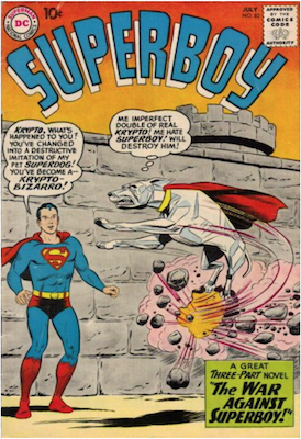 Superboy #82. Click for current values.