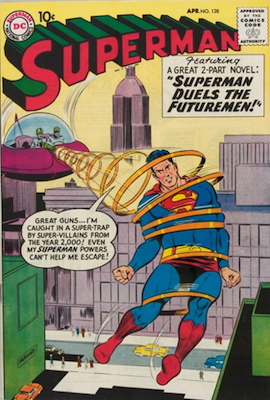 Superman #128: Bruce Wayne crossover