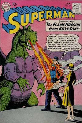 Superman comic book #142: Second Batman crossover