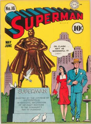 Superman #16. Click for current values.