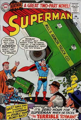 Superman comic book #182: First Silver Age appearance of Toyman