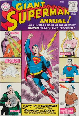 Superman Annual #2. Click for values