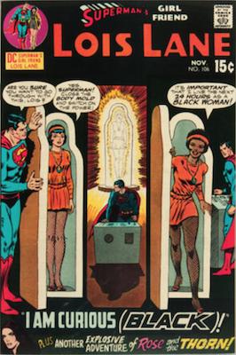 Superman's Girlfriend Lois Lane #106, Black Lois Story. Click for values