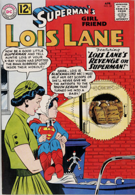Superman's Girlfriend Lois Lane #32. Click for current values.