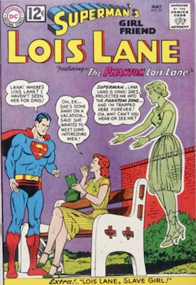 Superman's Girlfriend Lois Lane #33. Click for current values.