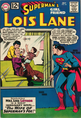 Superman's Girlfriend Lois Lane #34. Click for current values.
