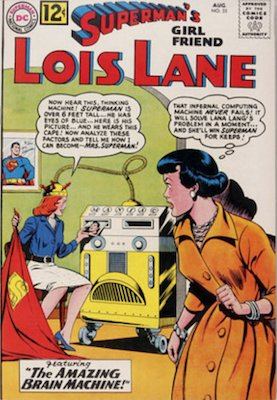 Superman's Girlfriend Lois Lane #35. Click for current values.