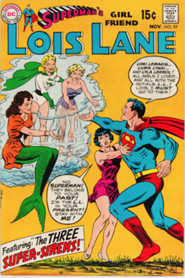 Superman's Girlfriend Lois Lane #97. Click for current values.