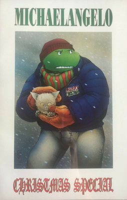 Teenage Mutant Ninja Turtles Comic: Christmas Special #1 (1990). Click for values