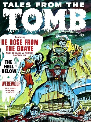 Tales from the Tomb #1 (1969): First in Series. Click for value